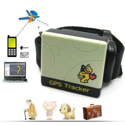 GSM / GPRS / GPS Pet Tracker with Monitoring and SOS